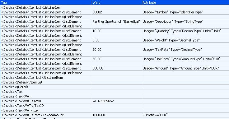 Mesonic:Stammdaten/XML-Import/Register XML-Vorlage – MESOWIKI